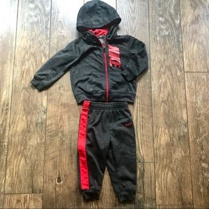NIKE Infant Therma Dri-fit Tracksuit Hoodie Outfit